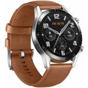 Huawei Watch GT 2 Classic 46mm Barna-Bőr