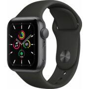 Apple Watch SE GPS 40mm asztroszürke alumíniumtok fekete sportszíjjal